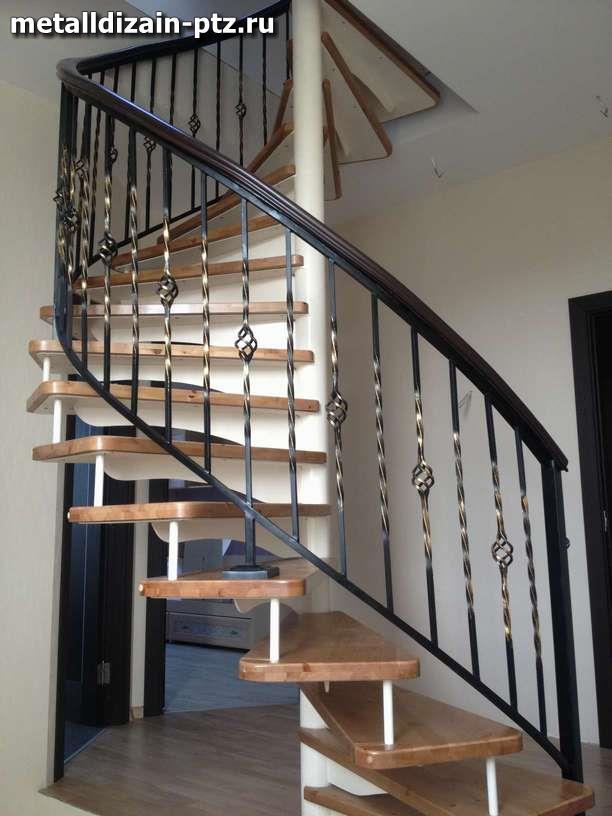 Поручни для винтовых лестниц